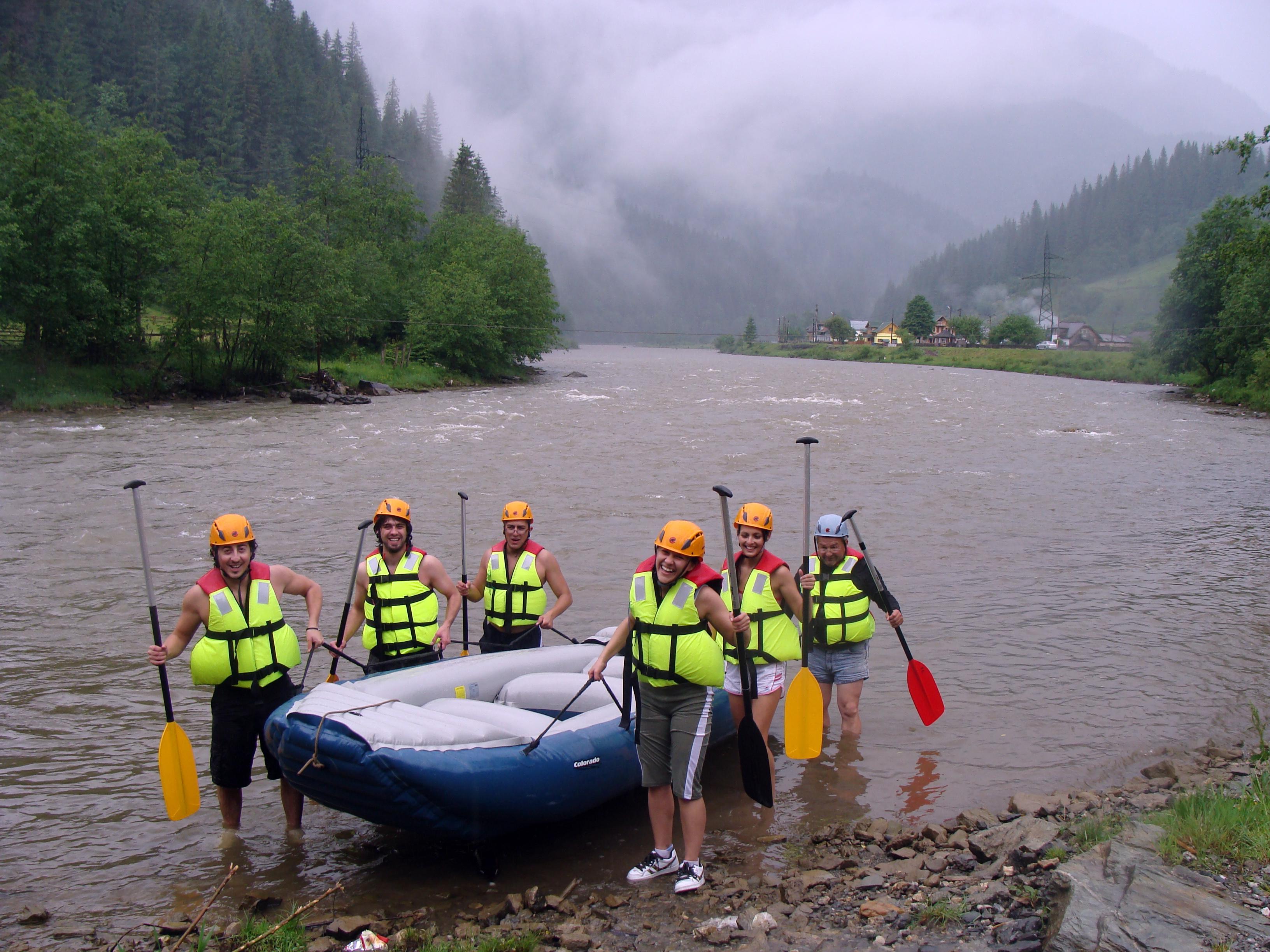 River Rafting Bistrița