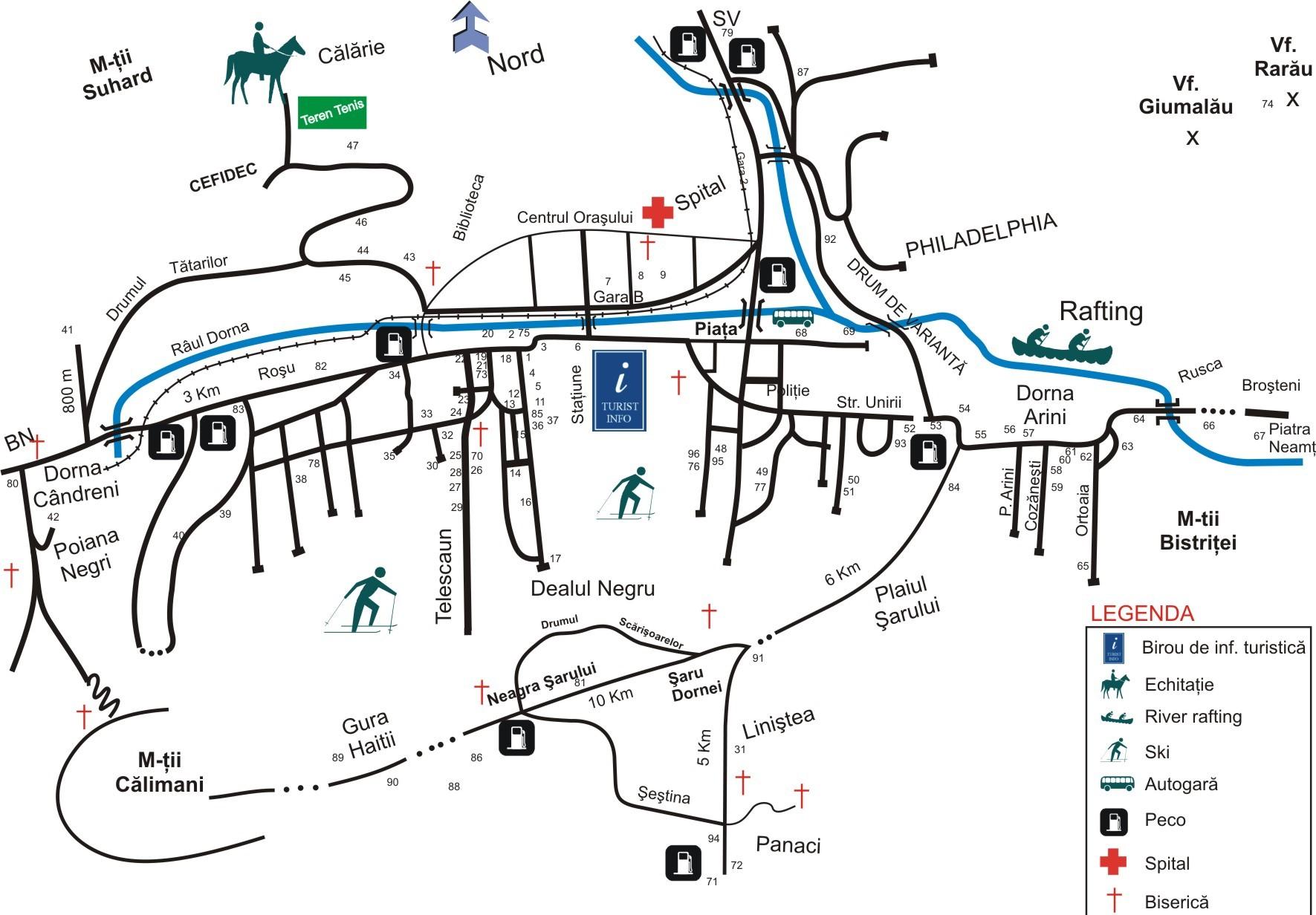 Harta Oras